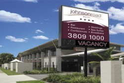 Johnson Road Motel Logo and Images