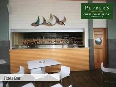 Peppers Coral Coast Resort Logo and Images