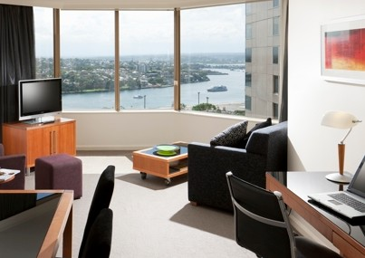 Quay West Suites Sydney Logo and Images