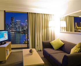Adina Apartment Hotel Brisbane Logo and Images