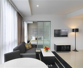 Meriton Serviced Apartments - Herschel Street Logo and Images
