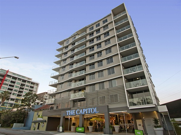 The Capitol Apartments Logo and Images