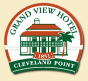 Grand View Hotel Logo and Images