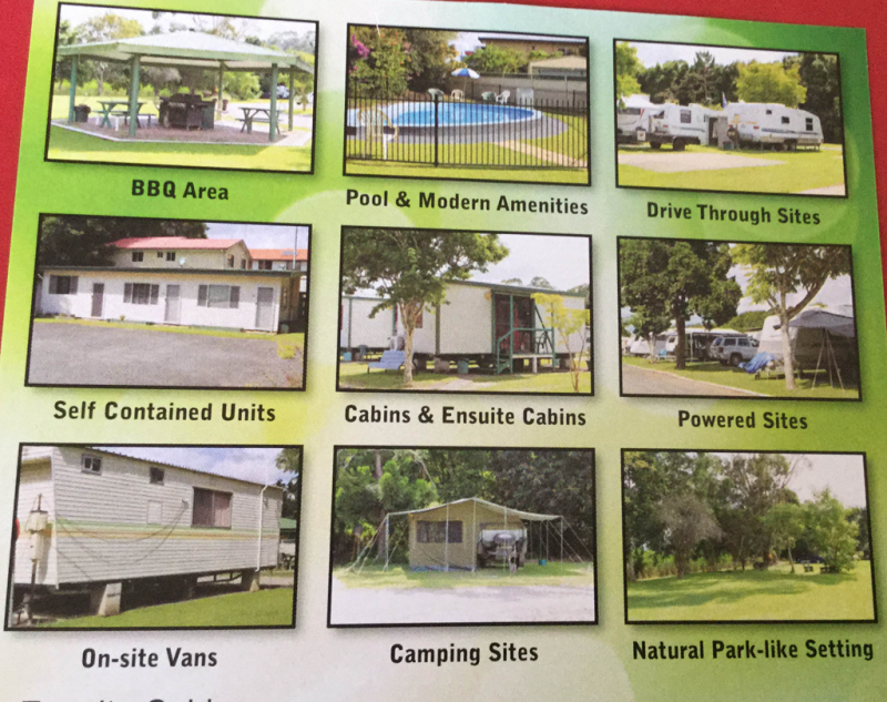 Greenhills Caravan Park Logo and Images