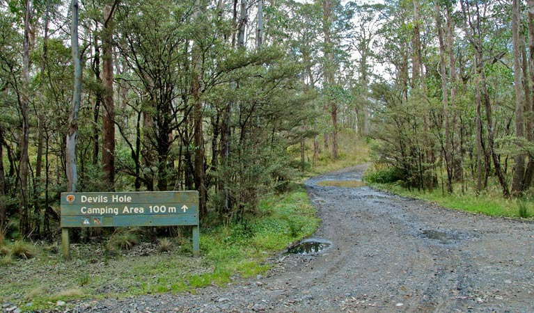 Devils Hole campground and picnic area