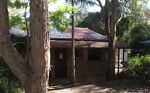 Jervis Bay Cabins and Hidden Creek Real Camping Logo and Images