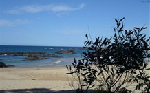 Mystery Bay Camping Area Logo and Images