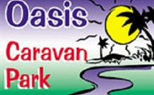 Oasis Caravan Park Logo and Images