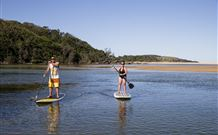 Sawtell Beach Holiday Park Logo and Images