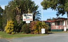 The Haven Caravan Park Logo and Images