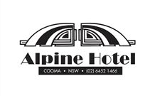 Alpine Hotel - Cooma Logo and Images
