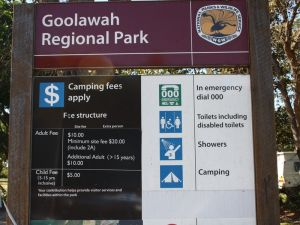 Goolawah National and Regional Parks Logo and Images