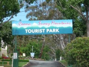 Cooma - Snowy Mountains Tourist Park Logo and Images