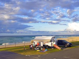 Kingscliff Beach Holiday Park Logo and Images