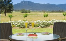 Pemberley Grange Hunter Valley Getaway Logo and Images