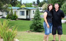 Jervis Bay Holiday Cabins Logo and Images