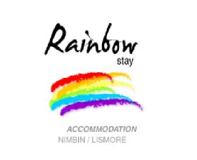 RainbowStay Nimbin Logo and Images