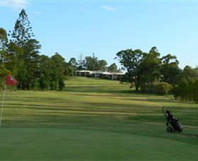 Gympie Pines Fairway Villas Logo and Images