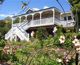 Boonah Hilltop Cottage Logo and Images