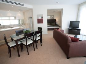 Grand Mercure Allegra Apartments Logo and Images