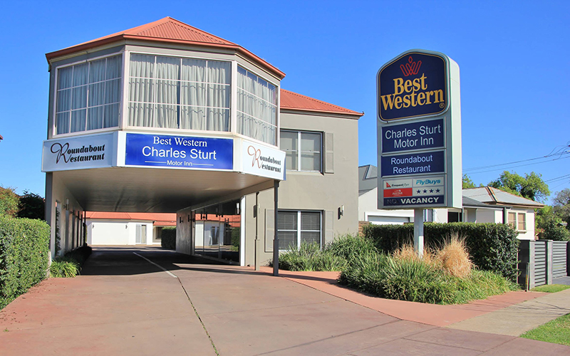 BEST WESTERN PLUS Charles Sturt Suites and Apartments Logo and Images