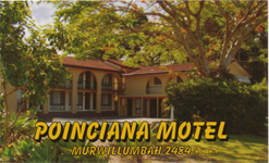 Poinciana Motel Logo and Images