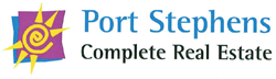 Port Stephens Complete Real Estate Logo and Images