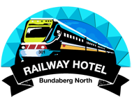 Railway Hotel Bundaberg Logo and Images