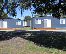 Bicheno East Coast Holiday Park Logo and Images