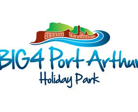 BIG4 Port Arthur Holiday Park Logo and Images