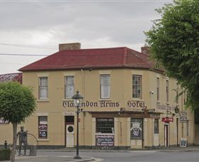 Clarendon Arms Hotel Logo and Images