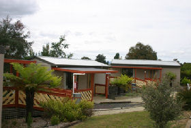 Launceston Holiday Park Legana Logo and Images