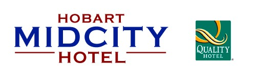 Quality Hobart Midcity Hotel Logo and Images
