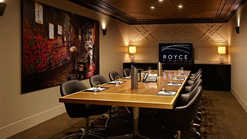 Royce Hotel Logo and Images