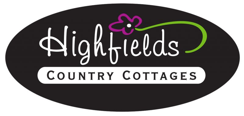 Highfields Country Cottages Logo and Images
