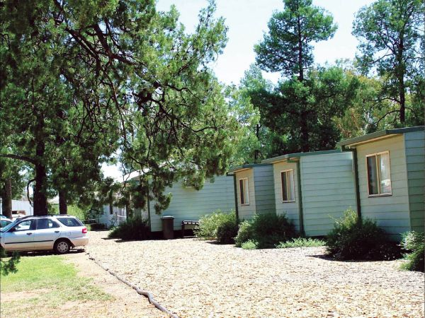Camp Cypress Cabin and Caravan Park Logo and Images