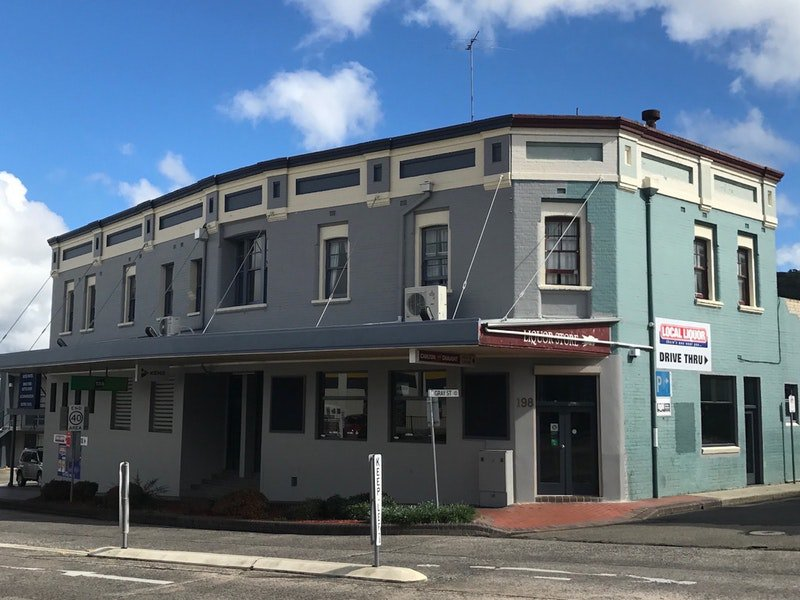 Commercial Hotel Motel Lithgow Logo and Images