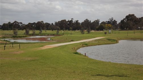 Mildura Golf Resort Logo and Images