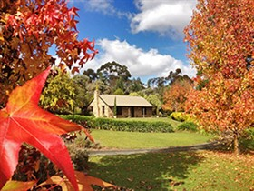 Adelaide Hills Country Cottages - Lavender Fields Logo and Images