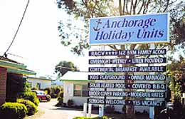 Anchorage Holiday Units Logo and Images