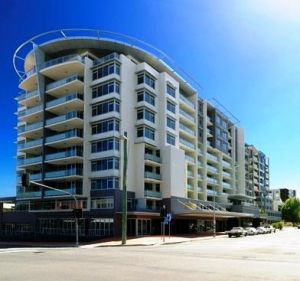Adina Apartment Hotel Wollongong Logo and Images