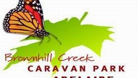 Brownhill Creek Caravan Park Logo and Images