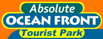Absolute Oceanfront Tourist Park Logo and Images