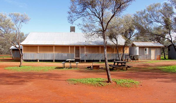 Belah Shearers Quarters - Gundabooka National Park Logo and Images