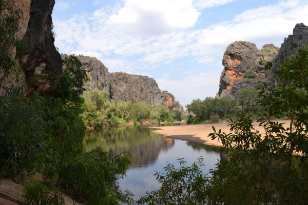 Windjana Gorge Camp at Windjana Gorge National Park Image