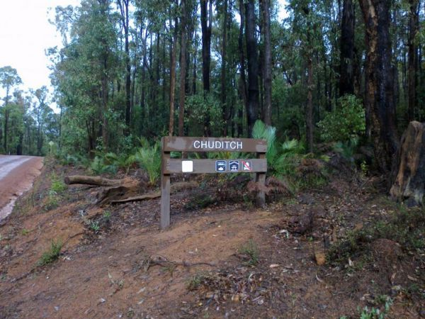 Chuditch Campground at Lane Poole Reserve Logo and Images
