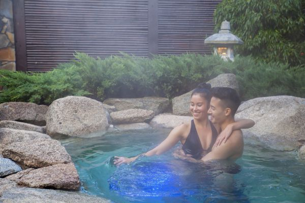 Japanese Mountain Retreat Mineral Springs & Spa Image