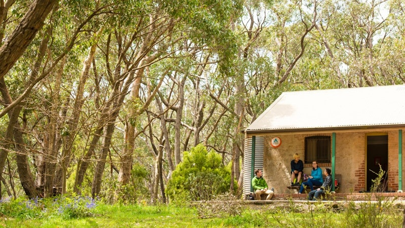 Mount Lofty Cottage YHA Logo and Images