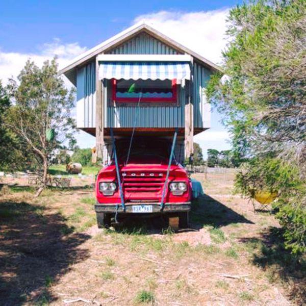 Torquay Farmstay Studio Truck Image