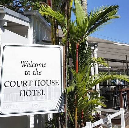 Court House Hotel Logo and Images